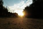 Cicha o zachodzie słońca