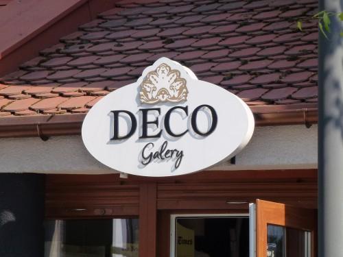 Deco Galery szyld