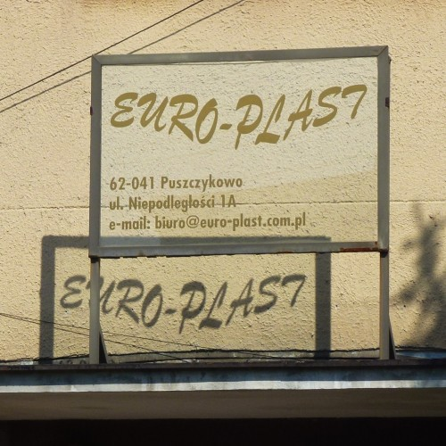 Euro-Plast szyld