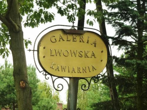 Galeria Lwowska szyld