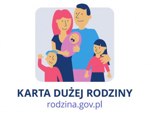 Karta Dużej Rodziny logo