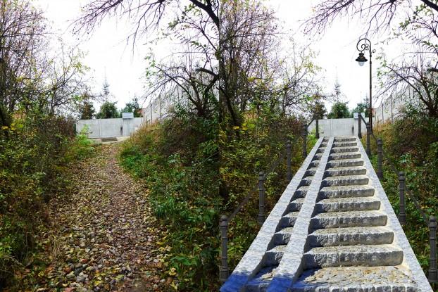 Kręta i wizualizacja schodów