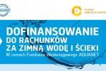 dofinansowanie do rachunków za wodę i ścieki