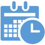 kalendarz z zegarem
