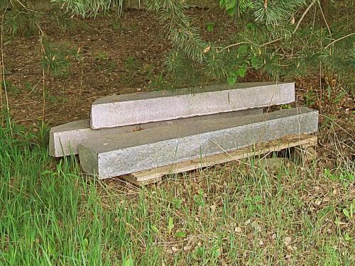 kamienne bloki na Morenowej