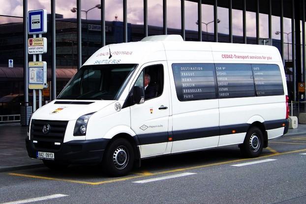 minibus w Pradze
