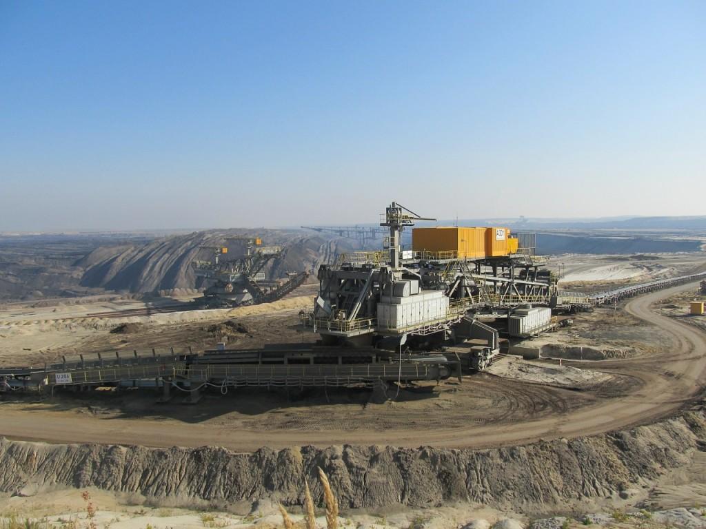 odkrywkowa kopalnia węgla