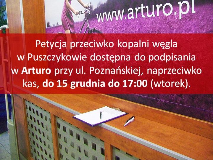 petycja do podpisania w Arturo2