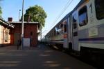 pociąg w Puszczykówku