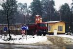 początek remontu dworca w Puszczykowie 12.01.2016