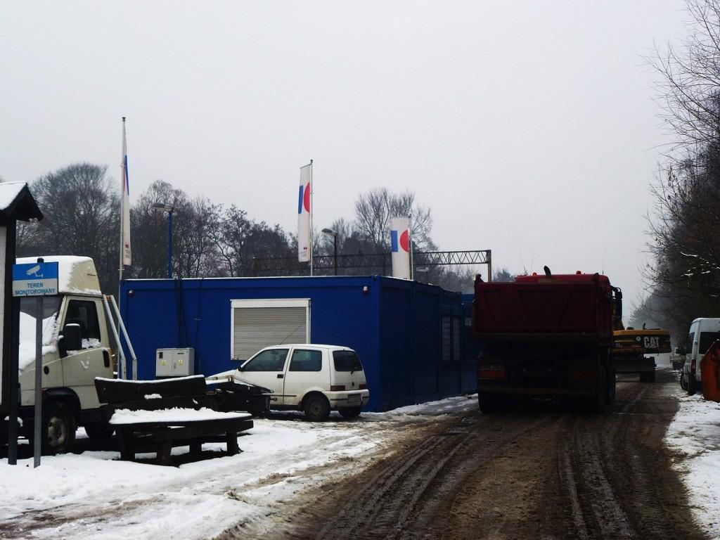 początek remontu dworca w Puszczykowie 12.01.2016 4