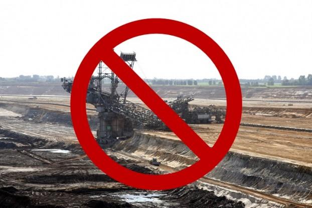 przeciw kopalni w Puszczykowie
