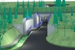 tunel pod torami na 3 Maja wizualizacja