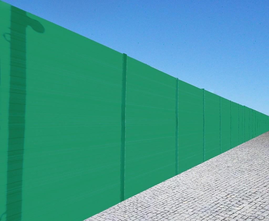 wizualizacja zielony ekran RAL 6032